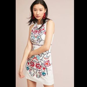 Lyndsey Embroidered Shift Dress Akemi + Kin